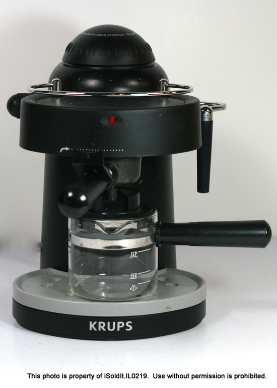 Krups Coffee Maker Xp 5200 : KRUPS XP1000 Steam Espresso Cappuccino Machine with Frothing Nozzle - Black eBay