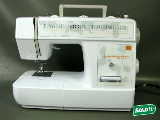 Husqvarna Viking Accessories : Husqvarna viking huskystar e sewing machine w footpedal