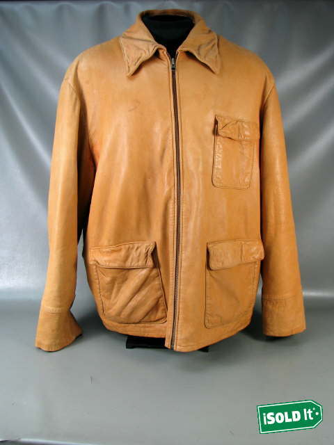 Murano leather jackets