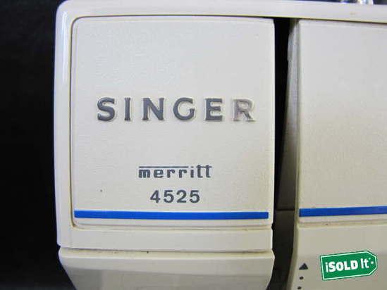 singer merritt 4525 sewing machine