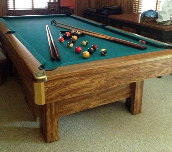 Brunswick bristol ii 9 foot recreational billiards pool for 10 foot pool table