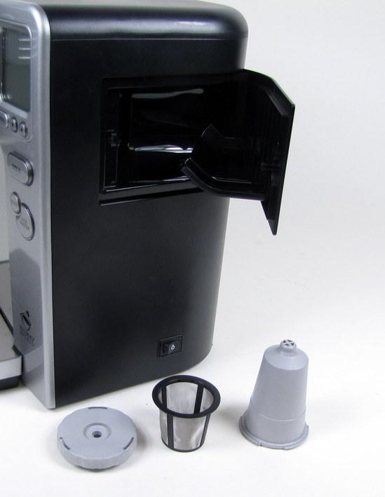 Cuisinart Coffee Maker Keurig Cleaning : CUISINART KEURIG BREWED ONE CUP COFFEE / TEA / HOT CHOCOLATE MAKER SS7-00 eBay