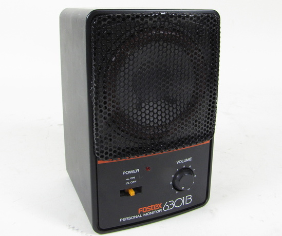 Personal Sound Monitor : Fostex b e personal broadcast powered speaker