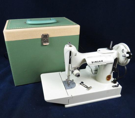 white sewing machine accessories
