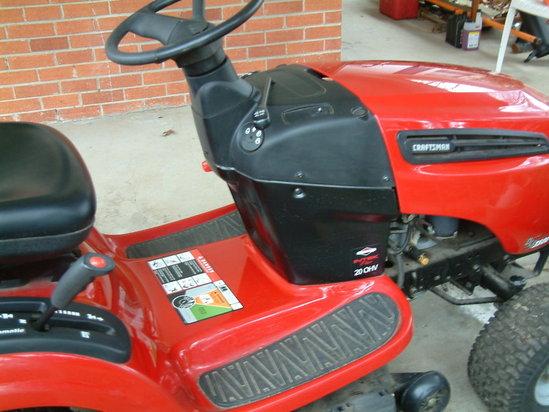 Craftsman 3500 Riding Mower : Craftsman dls hp briggs and stratton