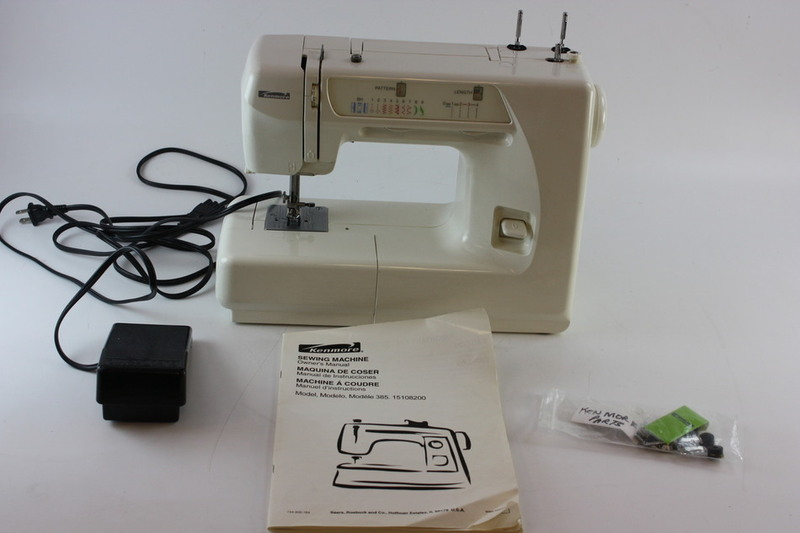 kenmore sewing machine model 385 manual
