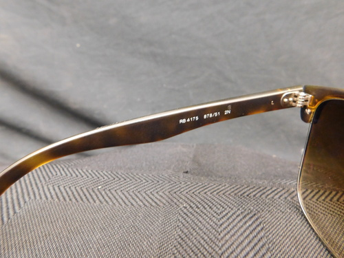 ray ban clubmaster pink  ray ban rb4175 oversized