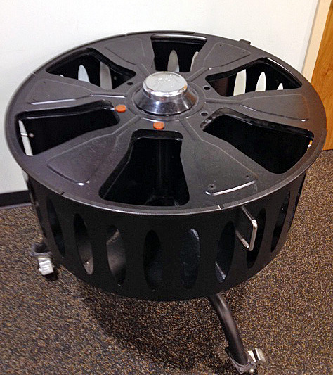 Weights Dumbbell Carousel Storage Bin On Wheels Gym