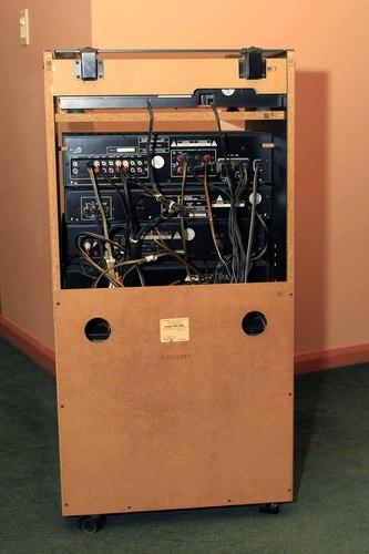 Kenwood Stereo Rack System Cd Player Tuner Cassette