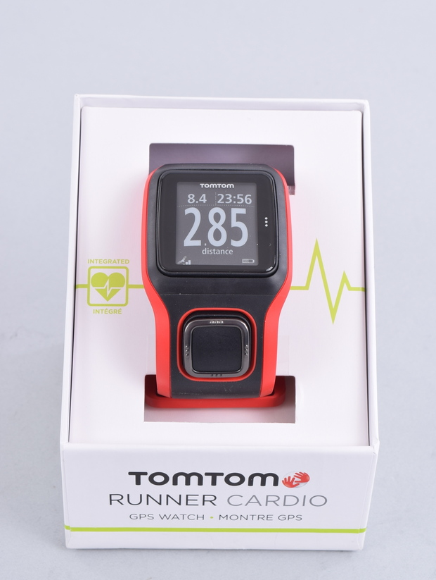 NEW TomTom Runner Cardio GPS Watch w/ Built-in Heart Rate ...