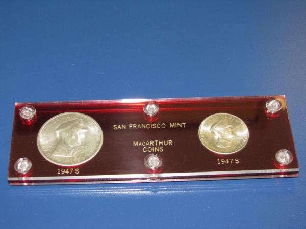 1947-S Phillipines Gen. MacArthur Peso & 50 Centavos US