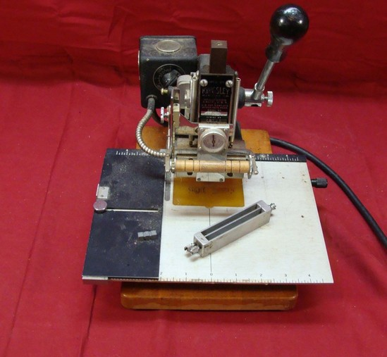 kingsley embossing machine