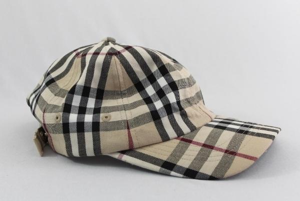 burberry classic novacheck plaid cotton adjusable baseball