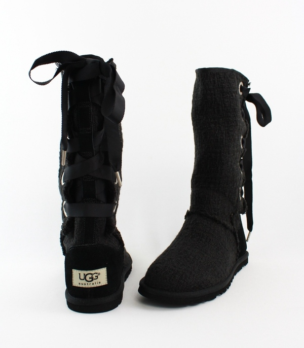 uggs heirloom lace up boots
