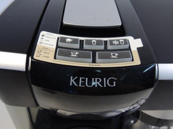keurig latte machine