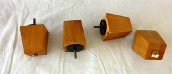 Maple risers set of furniture feet buns new couch sofa