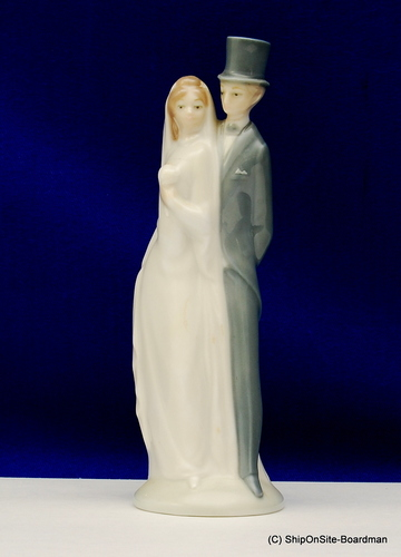 Vintage Bride And Groom NAO By LLADRO DAISA Wedding Cake Topper