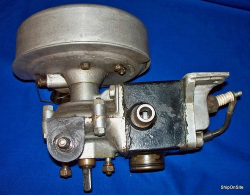 Vintage British Seagull Outboard Motor Power Head S N