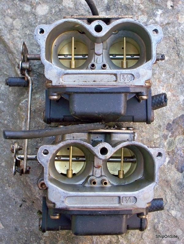 Johnson Evinrude V4 88 90 Hp Outboard Motor Carburetor Set