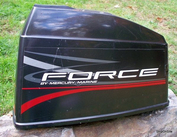 Late 1990 S Mercury Force 120 Hp Outboard Motor Engine