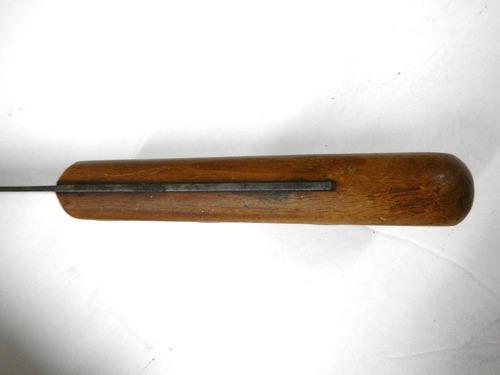 vintage dexter xl curved chef 39 s butcher knife 12 blade very sharp ebay. Black Bedroom Furniture Sets. Home Design Ideas