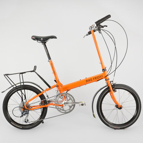 Bike Friday Pocket Llama Folding Bike 19in Large Touring Shimano