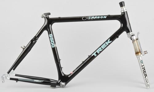 Trek 9900 Mountain Bike Frame Set 21in Xl Oclv 100 Carbon Retro Ebay