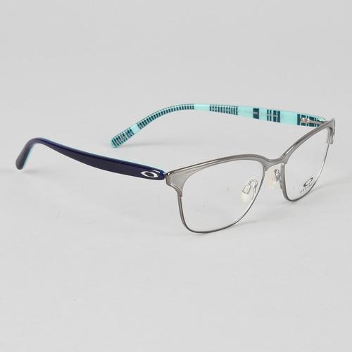 oakley intercede womens eyeglasses polished chrome frame