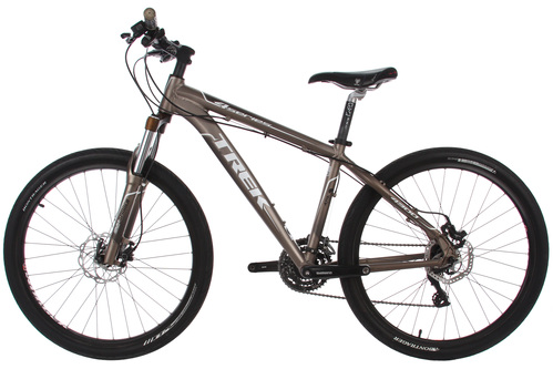 Trek 4300 Disc Mountain Bike 16in Small 26 Shimano Bontrager Ebay