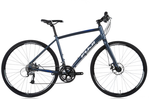 fuji absolute 2 0 le hybrid bike medium 19 u0026quot  aluminium shimano acera disc brake