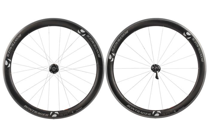 10 Speed Bike Rims : Bontrager aura carbon clincher road bike wheel set c