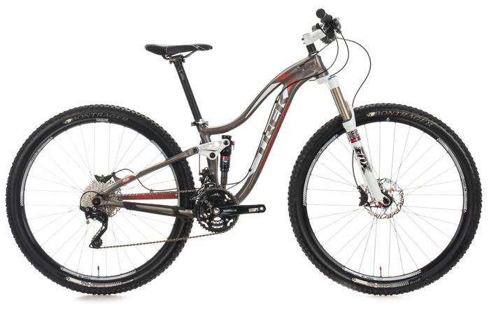 2013 Trek Lush SL 29 WSD Full Suspension Mountain Bike 14