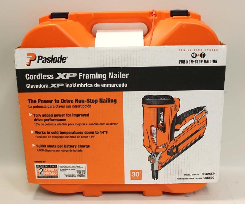 New In Box Paslode Cordless Xp Framing Nailer Cf325xp
