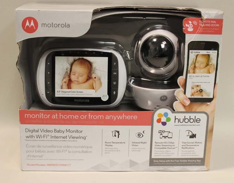 motorola mbp853 connect hd digital wifi camera video baby monitor 3 5 display ebay. Black Bedroom Furniture Sets. Home Design Ideas