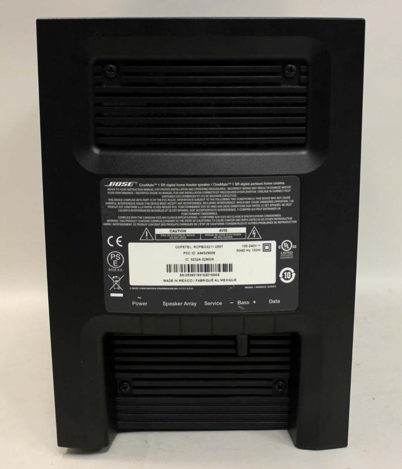 Cinemate 1 Sr Home Theater Speaker System 28 Images
