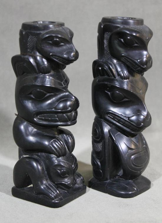 Antique north west coast haida indian hand carved