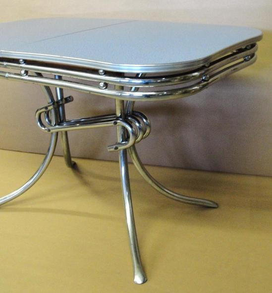authentic 1950s chrome formica 1950s modern kitchen