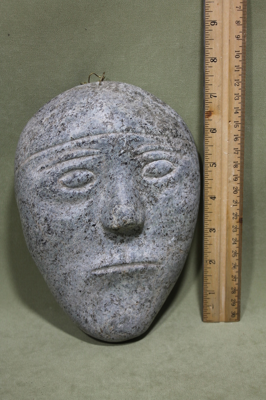 Antique hand carved inuit eskimo stone sculpture fetish