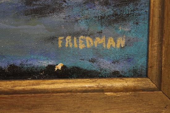 Vintage Arnold Friedman Expressionist New York City