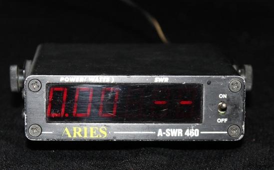 Digital Swr Meter : Used aries a swr digital watt power meter ham cb