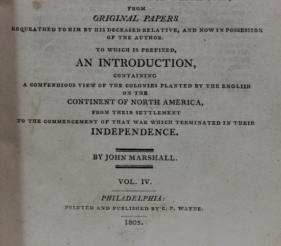 an introduction to the life of john marshall A new biography of john marshall shows how the influential  it to allow marbury to introduce into evidence a fact that everybody in the whole.