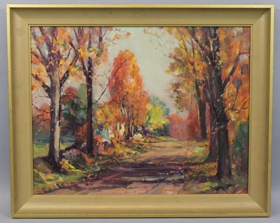Providence Rhode Island Th Century Painting