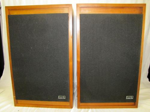 Pair of 2 cerwin vega 211 floor standing speakers 12 for 12 floor speaker