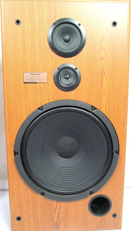 Pair pioneer cs t5100 three way 36 floor speakers 15 for 15 floor speakers