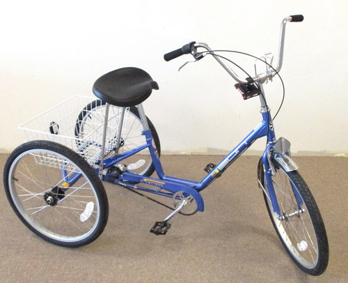 3 speed adult trike