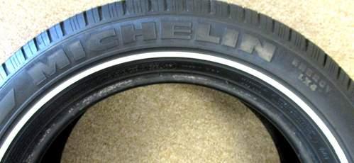 Fuzion Touring Tires >> SET 4 MICHELIN ENERGY LX4 RARE THIN WHITE WALL RADIAL XSE TIRES 225/60R17 | eBay