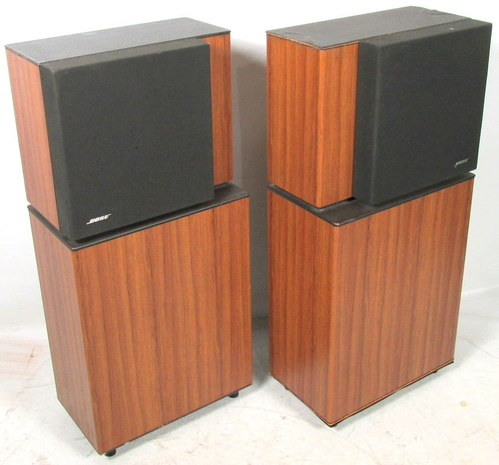 pair of bose 8 2 stereo everywhere tower speakers left right. Black Bedroom Furniture Sets. Home Design Ideas