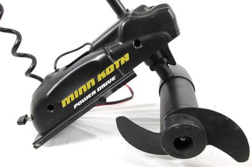 Minn kota power drive bow mount 50 pd trolling motor 50lb for Minn kota 25 trolling motor
