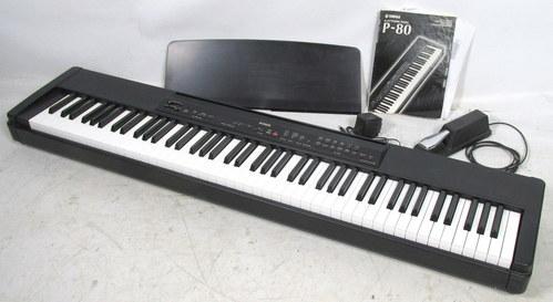 Yamaha electronic 88 key stage piano keyboard model p 80 for Yamaha piano keyboard models