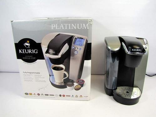 Keurig Coffee Maker Single Cup Manual : KEURIG PLATINUM B70 SINGLE CUP COFFEE MAKER MACHINE NR eBay